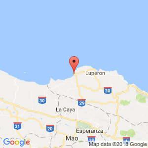 Localización de La Isabela en Puerto Plata
