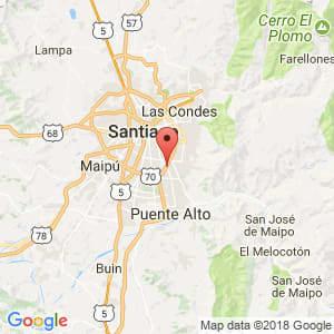 Localización de La Florida en Metropolitana de Santiago