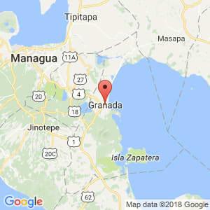Localización de Granada en Granada