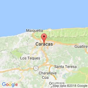 Localización de Caracas en Distrito Capital