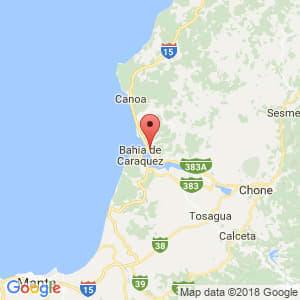Localización de San Vicente en Manabí