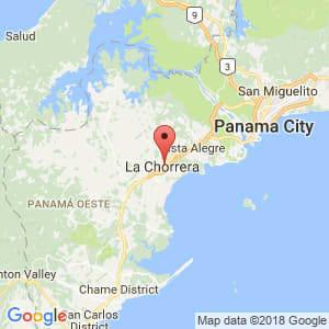 Localización de Barrio Colón en Panamá Oeste