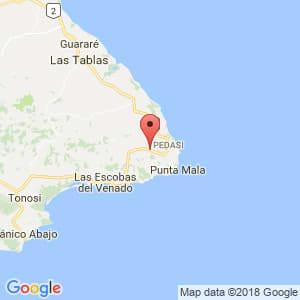 Localización de Pedasí en Los Santos