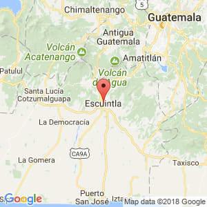 Localización de Escuintla en Escuintla