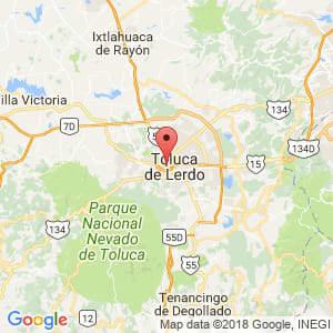 Localización de Toluca en México