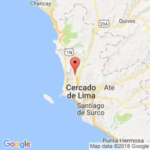 Localización de Los Olivos en Lima Provincias