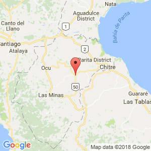 Localización de Pesé en Herrera