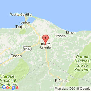 Localización de Bonito Oriental en Colón