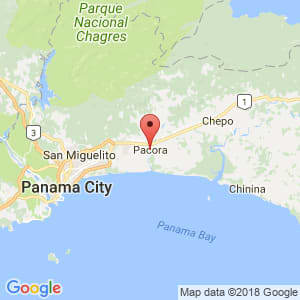 Localización de Pacora en Panamá