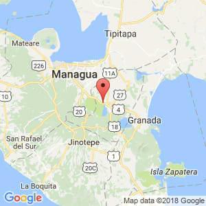 Localización de Nindirí en Masaya