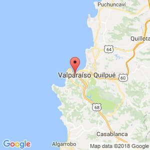 Localización de Valparaíso en Valparaíso