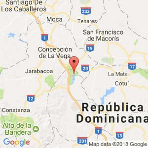 Localización de Rincón en La Vega