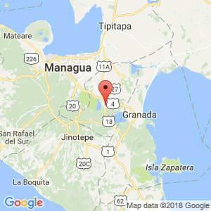 Localización de Masaya en Masaya