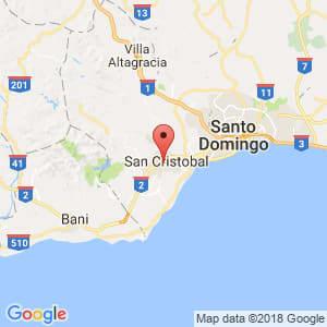 Localización de San Cristóbal en San Cristóbal