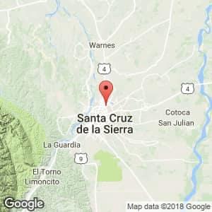 Localización de 2 de Agosto en Santa Cruz