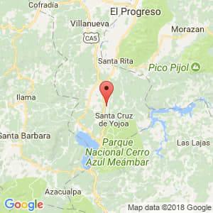Localización de Achiotal en Cortés