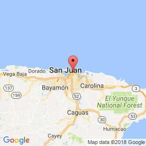 Localización de Santurce en San Juan