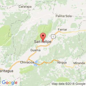 Localización de San Felipe en Yaracuy