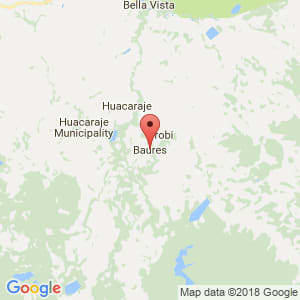 Localización de Baures en Beni