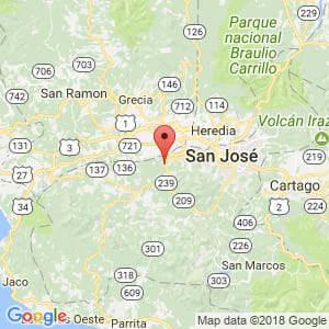 Localización de Colón en San José
