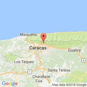 Localización de Chacao en Miranda