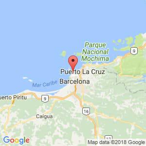 Localización de Lechería en Anzoátegui