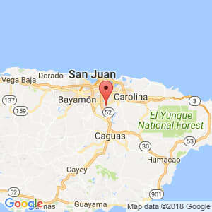 Localización de Cupey en San Juan