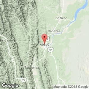Localización de Abapó en Santa Cruz