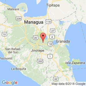 Localización de Masatepe en Masaya