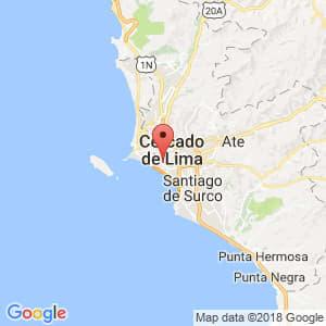 Localización de Pueblo Libre en Lima Provincias
