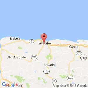 Localización de Vega Alta en Arecibo