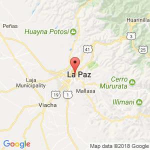 Localización de Miraflores en Chuquisaca