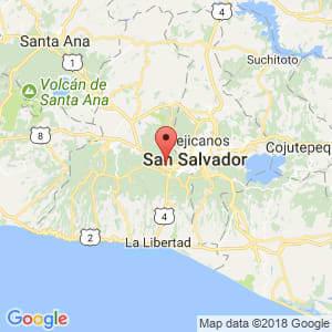 Localización de Santa Tecla en La Libertad