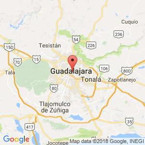 Localización de Guadalajara en Jalisco