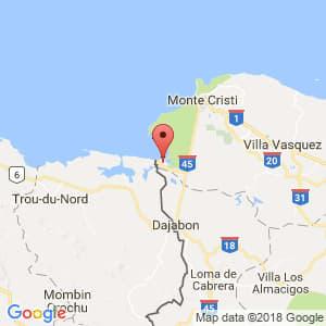 Localización de Pepillo Salcedo en Monte Cristi