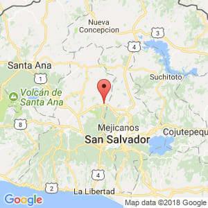 Localización de Quezaltepeque en La Libertad