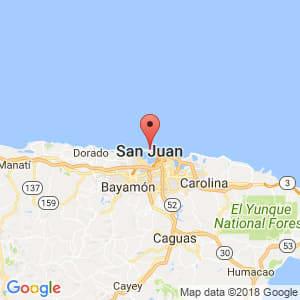 Localización de San Juan en San Juan