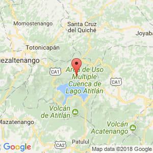 Localización de Sololá en Sololá