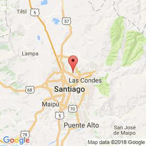 Localización de Huechuraba en Metropolitana de Santiago