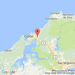 Localización de Sabanitas en Colón