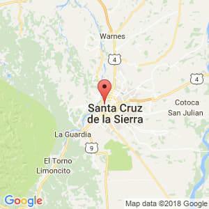 Localización de Enconada en Santa Cruz