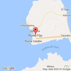 Localización de Punto Fijo en Falcón