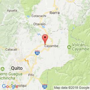 Localización de Tabacundo en Pichincha