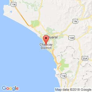 Localización de Chancay en Lima Provincias