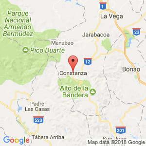 Localización de Constanza en La Vega