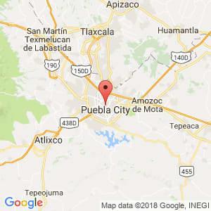 Localización de Puebla en Puebla