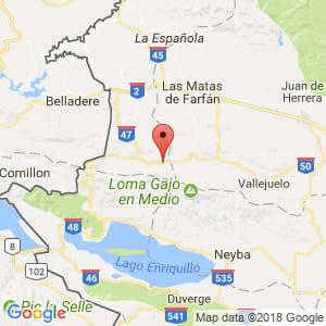 Localización de Juan Santiago en Elías Piña