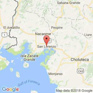 Localización de San Lorenzo en Valle