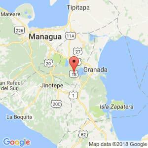 Localización de Catarina en Masaya