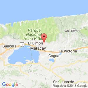 Localización de Parroquia Las Delicias en Aragua